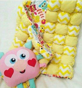 Детское одеялко бом-бон