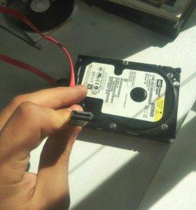 Жёсткий диск 80 g