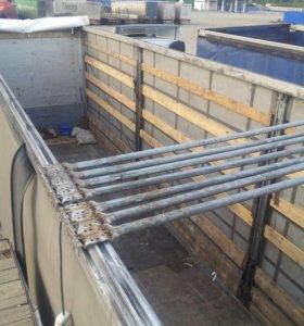 Ремонт направляющих сдвижных крыш полуприцепов