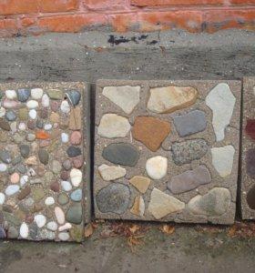 тротуарная и настенная плитка с натуральным камнем