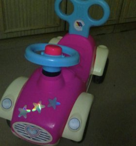 Машина - каталка для девочки