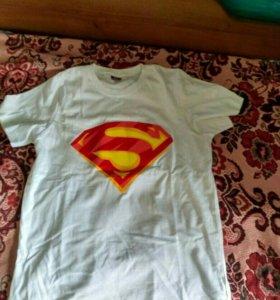 Футболка superman, супермен, новая
