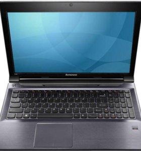 Lenovo v580 i7 2.9-3.2 , 16опер, 120ssd + 1 tb hdd