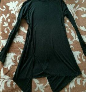Платье водолазка новое