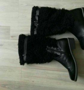 Сапоги женские.полусапоги.ботинки.обувь.новые