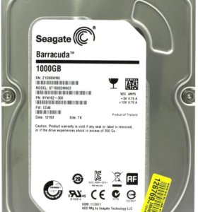 Жесткий диск Seagate 1Tb SATA б/у