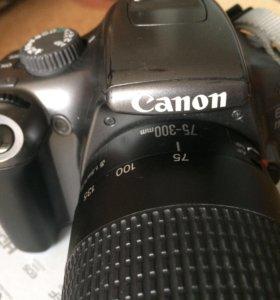 Canon 1100D+объектив Canon Zoom Lens ef 75-300