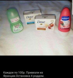 Шариковый дезодорант,мыло