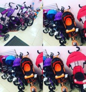 Детские велосипеды коляски