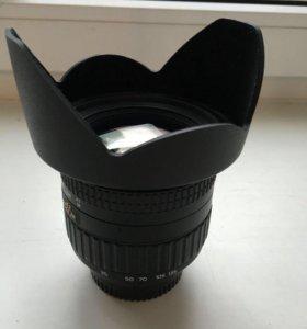 Объектив Tokina 16.5135mm F3.55.6DX для Nikon