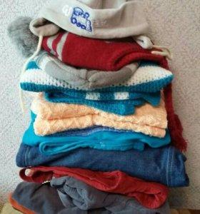 Пакет теплых вещей для мальчика