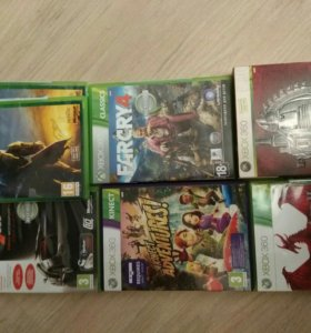 Игры xbox 360 far cry 4,gears,halo,dragon age