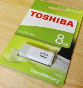Флешки USB Toshiba 8GB Япония