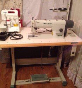 Швейная машина и оверлок