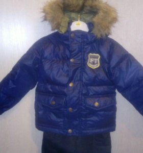 Костюм зимний. Куртка пуховик+брюки зимние raike