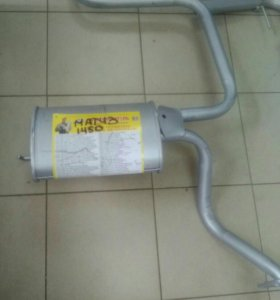 Глушитель на Daewoo Matiz