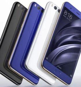 Xiaomi Mi6 6GB + 64GB (черный)