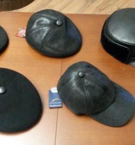 Новые утепленные кепки и бейсболка