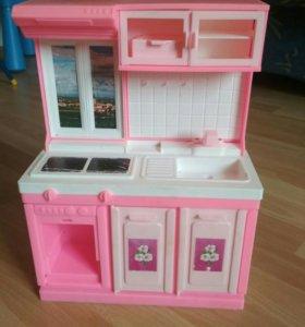 Кухня для кукол барби
