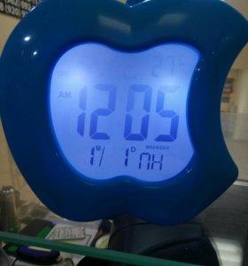 Часы говорящие время и температуру