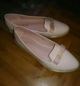 Туфли балетки 38