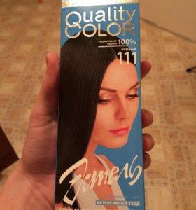 Краска для волос-чёрная