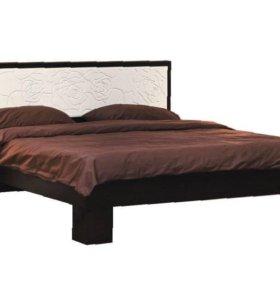 Кровать Розалия 1.6 м (06.15-03)