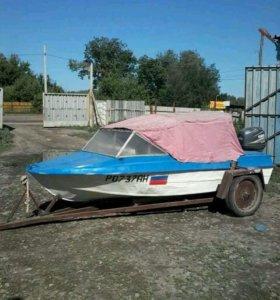 """лодка """"Крым"""" с мотором """"Yamaha"""""""