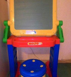 Столик-мольберт+ стульчик