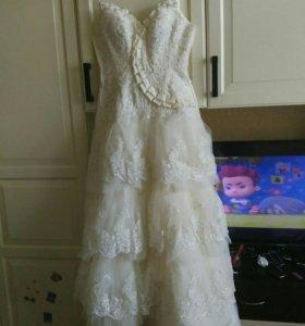 Крутое свадебное платье