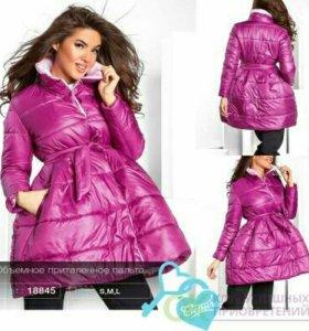 Пальто на синтепоне,новое