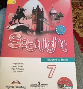 Учебник Spotlight 7
