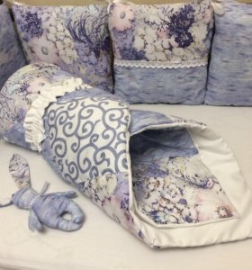 Бортики и одеяло