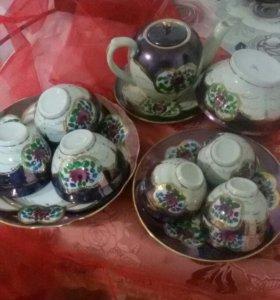 Чайный сервиз с пиалами