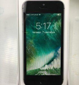 Новый iPhone SE Space Gray 32 gb