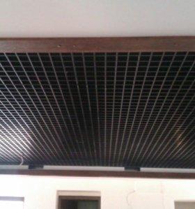 Грильято - подвесной потолок