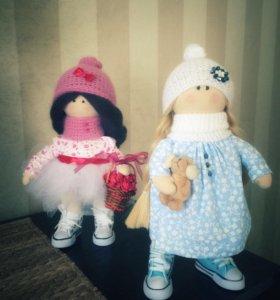 Интерьерные куклы ручной работы в ассортименте