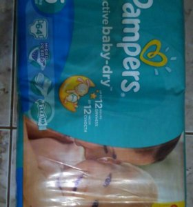 Подгузники Pampers размер 5