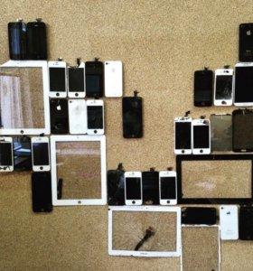 Замена стекла на мобильном устройстве