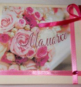 Шокобокс сладкий подарок маме