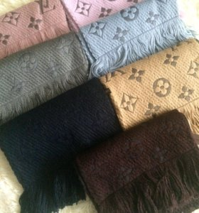 Тёплый шарф Louis Vuitton 2018