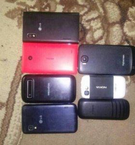 Телефоны на запчасти или под выстановление