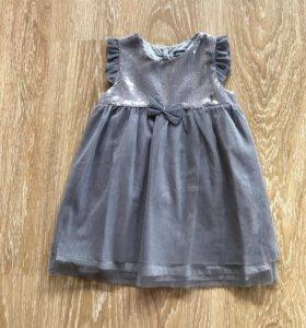 Новое платье рост 92-98