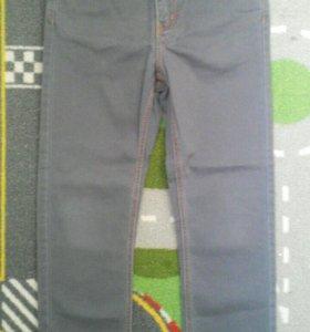Брюки джинсовые р. 116