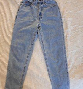 Настоящие завышеные джинсы S