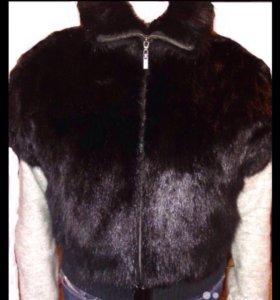Куртка-жилетка(норка)
