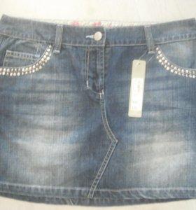 новая юбка джинсовая