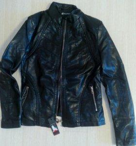 Кож. куртка женская