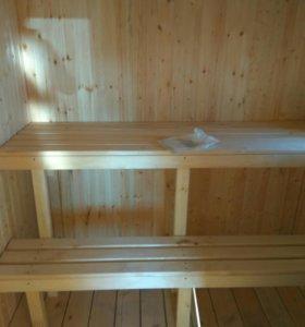 Строительство бань.