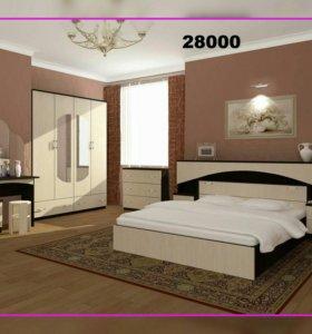 Спальня Камелия лдсп